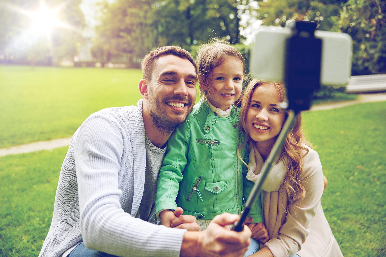 orlando dentist family selfie